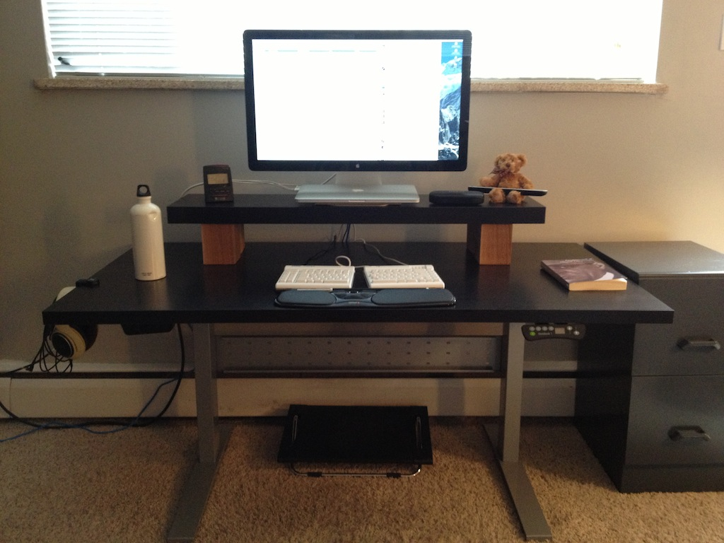 A Picture Of The Desk