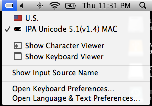 Using IPA fonts with Mac OS X: The Comprehensive Guide